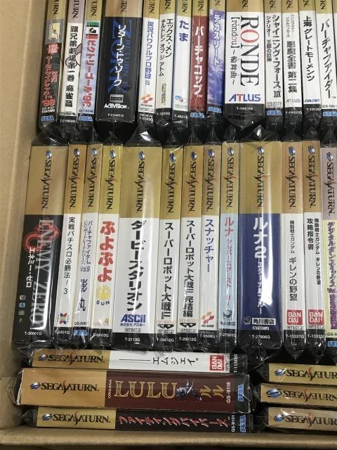 SS セガサターンソフト 帯付きコレクション 大量 60本以上 セット_画像4