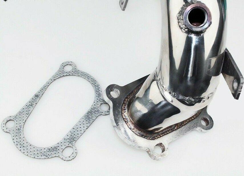アバルト用ダウンパイプ アバルト500/595/ アバルトマフラー用 新品 Downpipe SANS CATALYSEUR IHIターボ 競技用_画像2