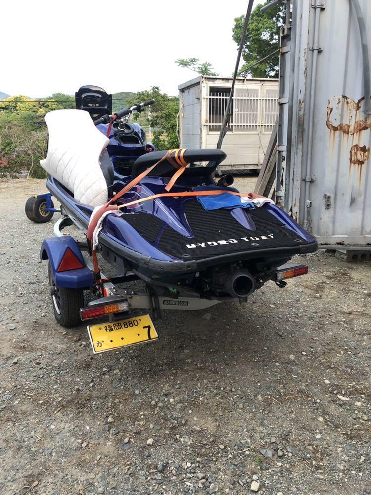 GP1200R ヤマハ ジェットスキー トレーラー付き 福岡 改造艇_画像3