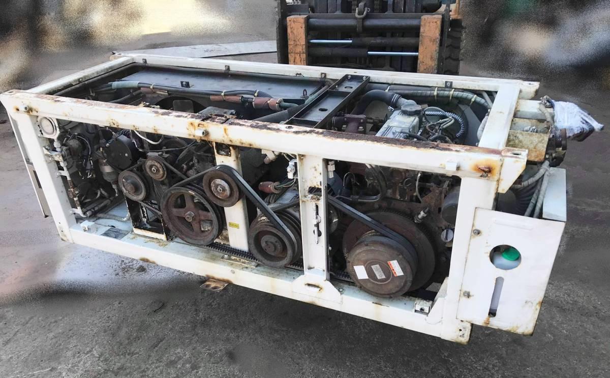 三菱重工 冷凍車 冷凍機 TU73D25-CN 動作未確認.部品取り.現状販売 ▲大物商品▲_画像1
