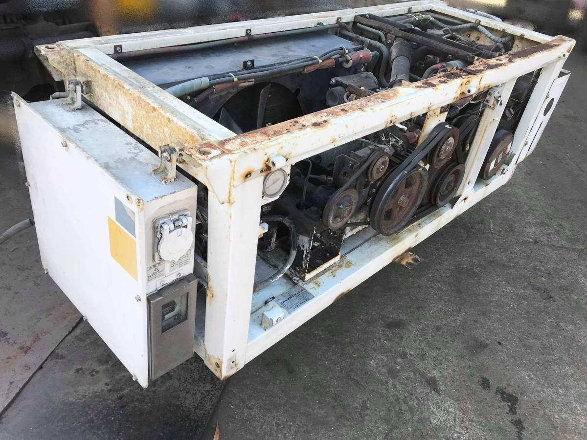 三菱重工 冷凍車 冷凍機 TU73D25-CN 動作未確認.部品取り.現状販売 ▲大物商品▲_画像2