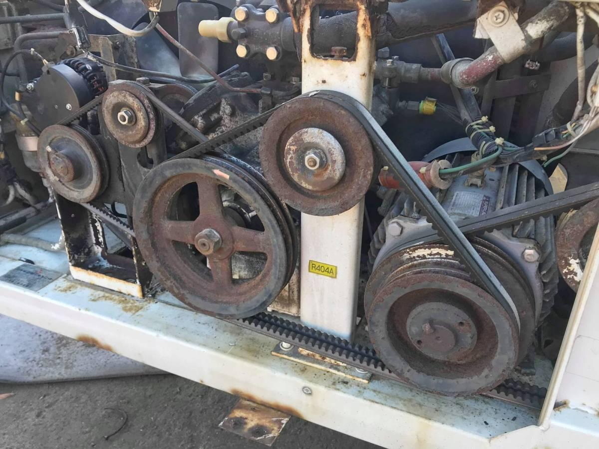 三菱重工 冷凍車 冷凍機 TU73D25-CN 動作未確認.部品取り.現状販売 ▲大物商品▲_画像8