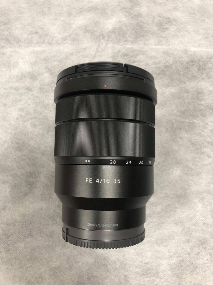 【美品】【送料込み】SONY Eマウント  Vario-Tessar T* FE 16-35mm F4 ZA OSS SEL1635Z_画像3