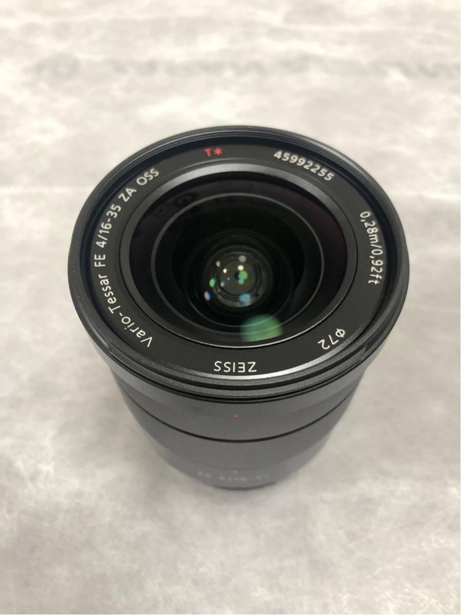 【美品】【送料込み】SONY Eマウント  Vario-Tessar T* FE 16-35mm F4 ZA OSS SEL1635Z_画像2