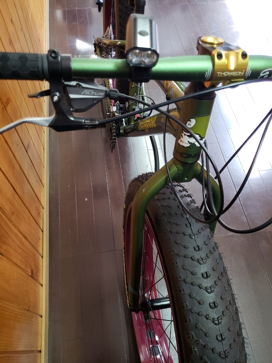 mongoose マングース ファットバイク レジャー 通勤 サイクリング ロードバイク マウンテンバイク クロスバイク _画像8