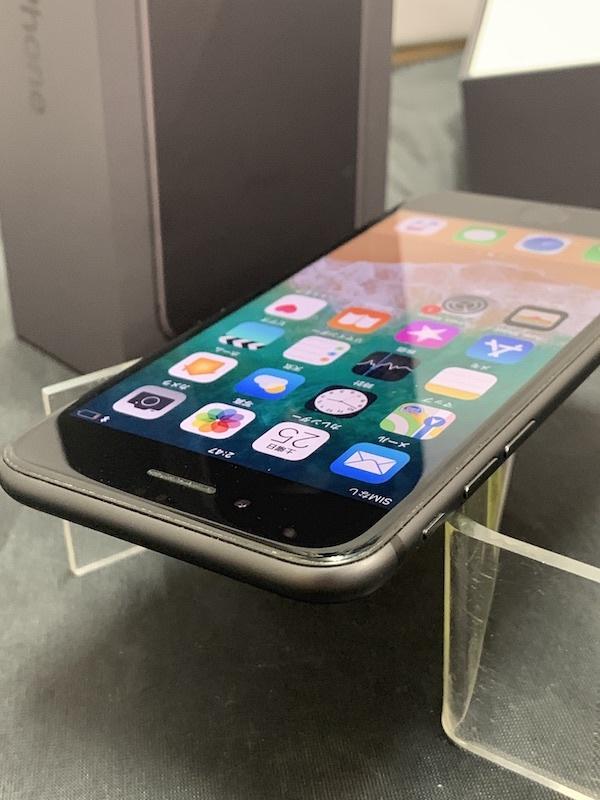 【au】【判定◯NW制限保障】iPhone8 64GB 黒 スペースグレー au系MVNO使えます!即決あり!_画像8