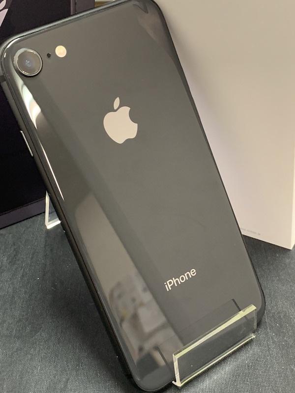 【au】【判定◯NW制限保障】iPhone8 64GB 黒 スペースグレー au系MVNO使えます!即決あり!_画像3