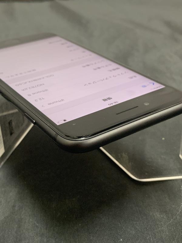 【au】【判定◯美品】iPhone8 64GB 黒 スペースグレー au系MVNO使えます!即決あり!_画像7