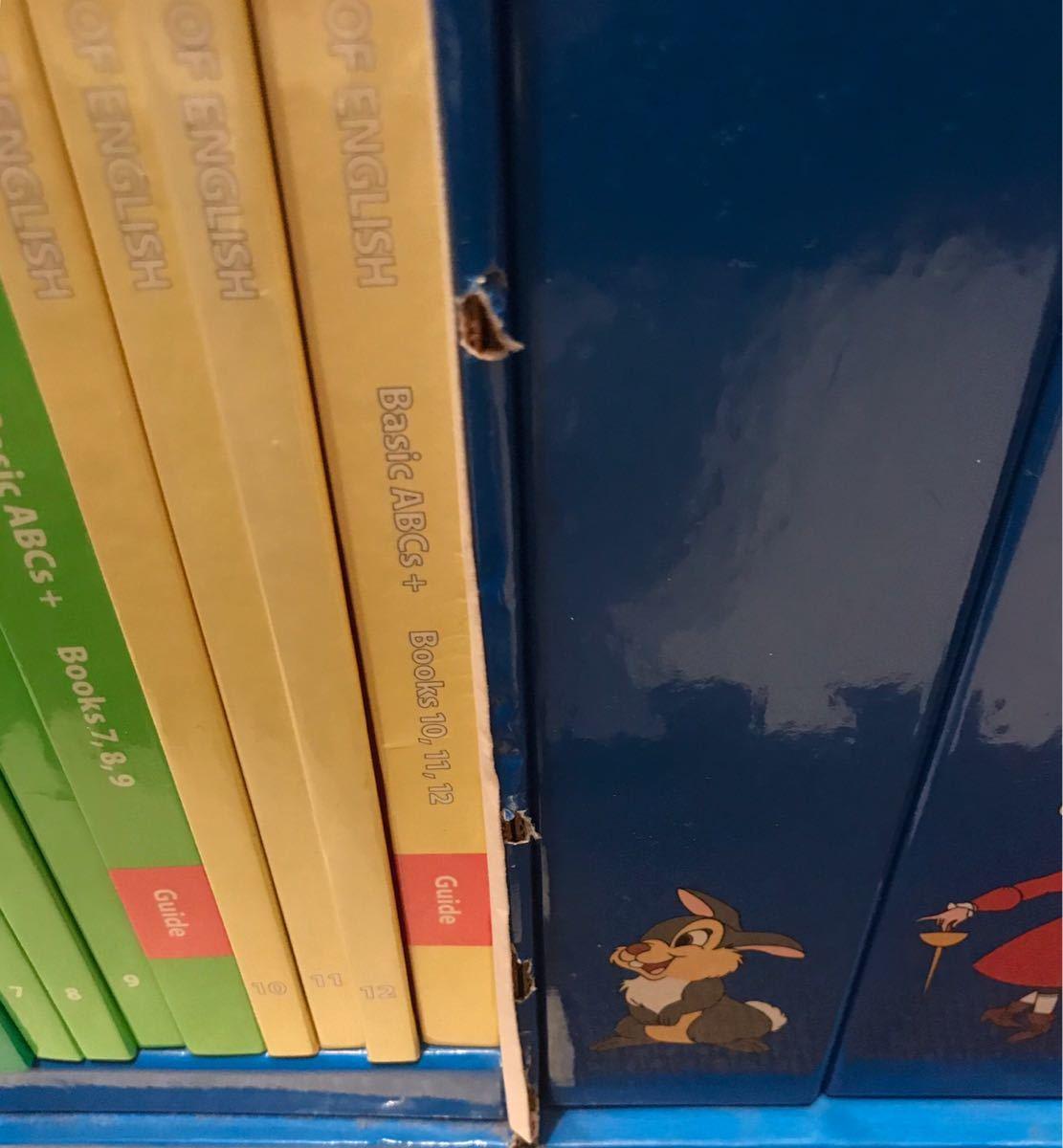 019 ジャンク ワールドオブイングリッシュ ディズニー英語システム 知育 Disney's world of English DVD CD 未開封有 勉強 教材_画像5