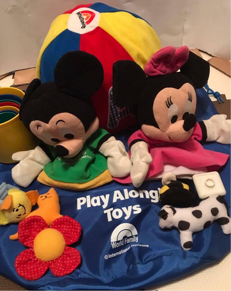 019 ジャンク ワールドオブイングリッシュ ディズニー英語システム 知育 Disney's world of English DVD CD 未開封有 勉強 教材_画像8