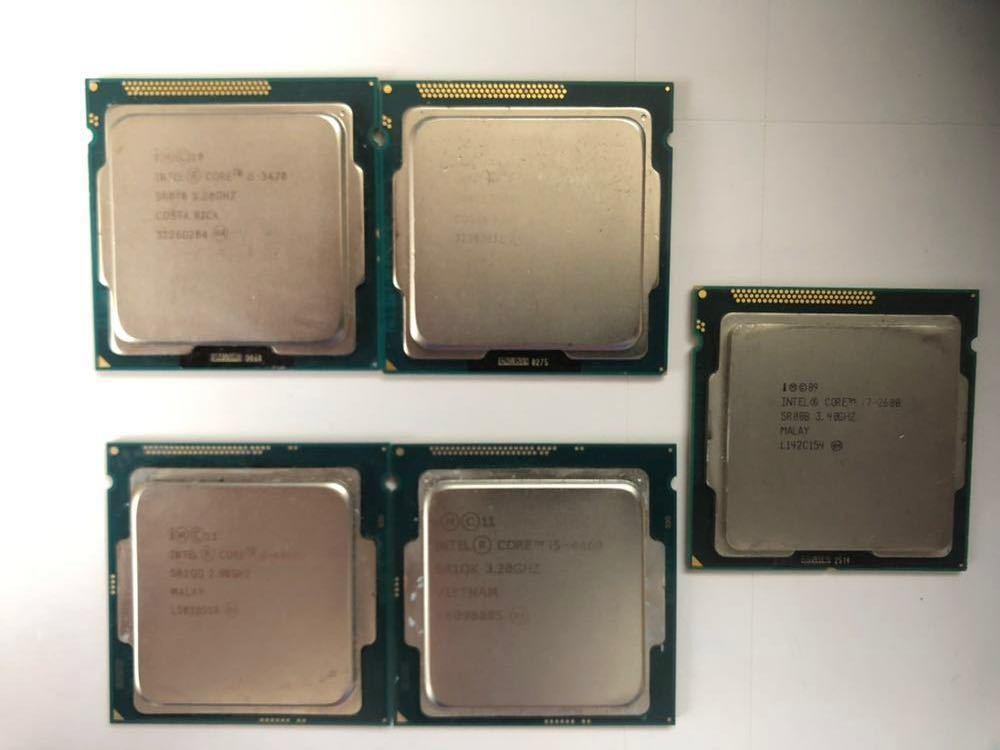 intel CPU / core i5 i7 / 訳あり品