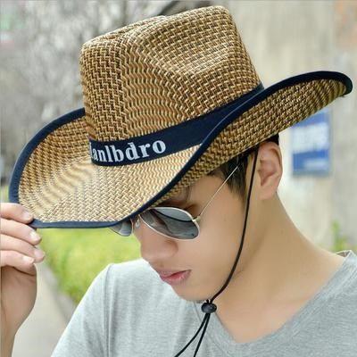 【1円!最落無し】麦わら帽子メンズサンバイザーソフトテンガロンハット帽春夏ウエスタンハット 3色選べます UE105