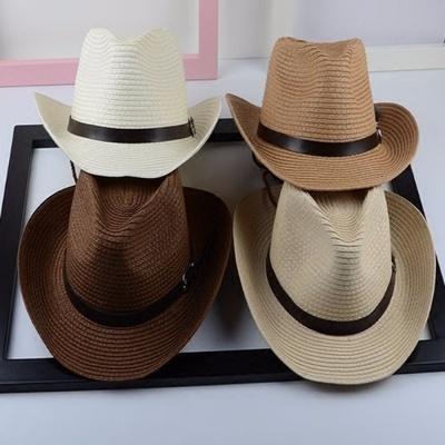 【1円スタート!最落無し】麦わら帽子メンズサンバイザーソフトテンガロンハット帽春夏ウエスタンハット4色選べます UE048_画像4