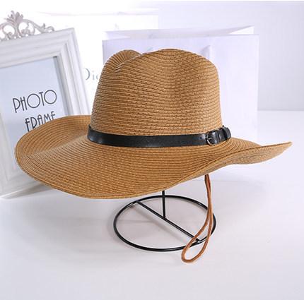 【1円スタート!最落無し】麦わら帽子メンズサンバイザーソフトテンガロンハット帽春夏ウエスタンハット4色選べます UE048