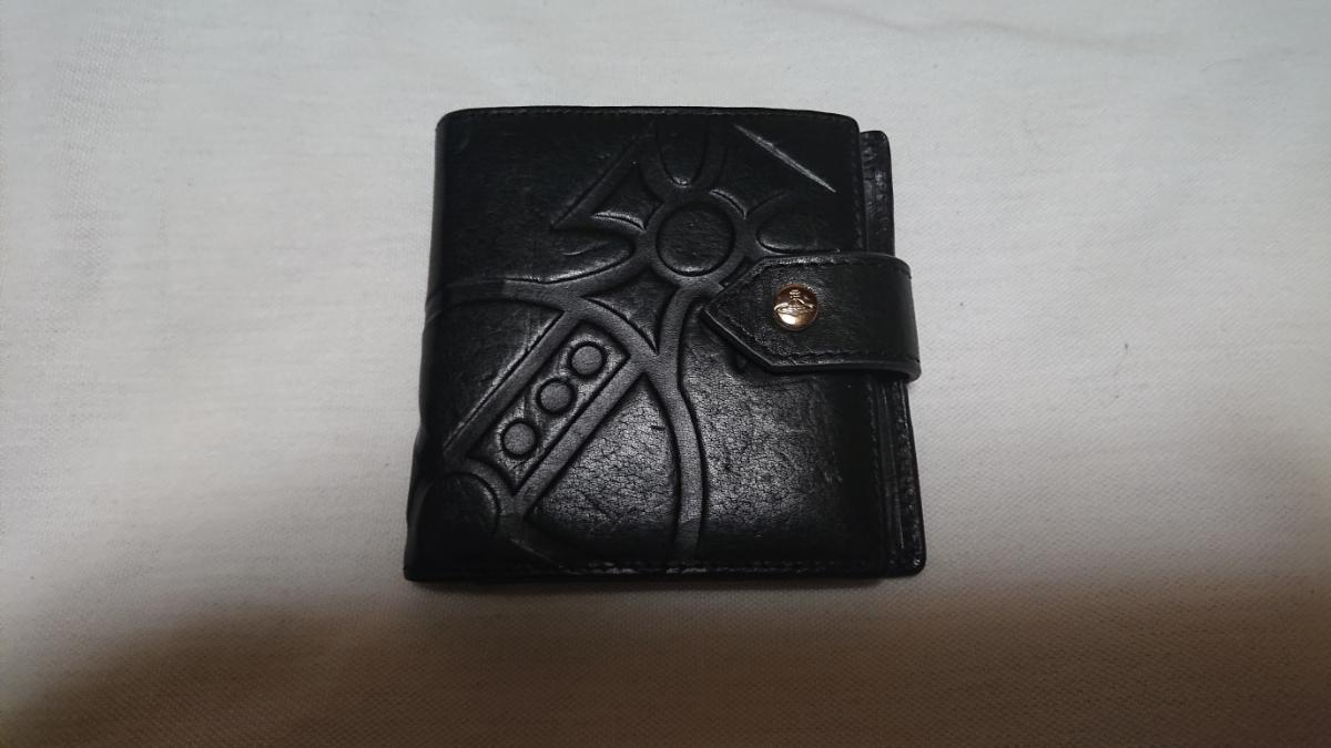 ヴィヴィアン・ウエストウッド 2つ折り財布 GIANT ORB 2814 ブラック