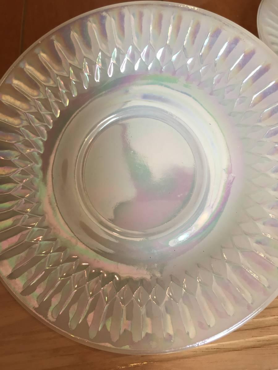 フェデラル カップ9個、ソーサー4枚 セット USA ミルクガラス 昭和レトロ_画像7