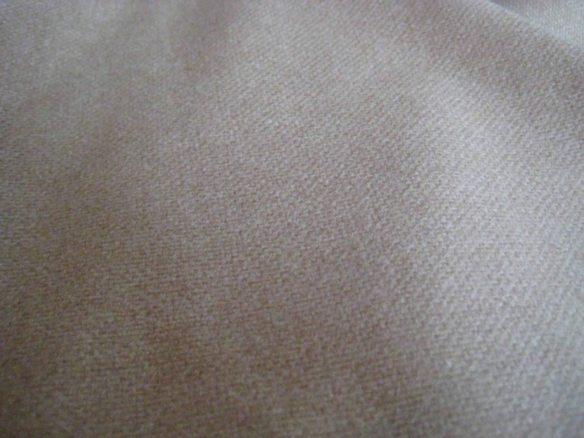 名品 アクアスキュータム ベージュのジャケットコート用生地 3.0m Aquascutum_生地表側③