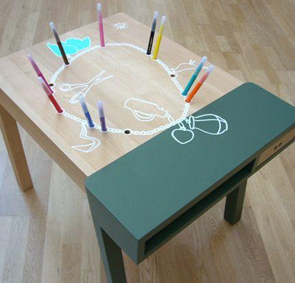 vitra ヴィトラ 【 Porcupine Desk ポーキュパイン デスク 】 Hella Jongerius ヘラ・ヨンゲリウス 2007年作 KIDS TABLE キッズテーブル_画像5