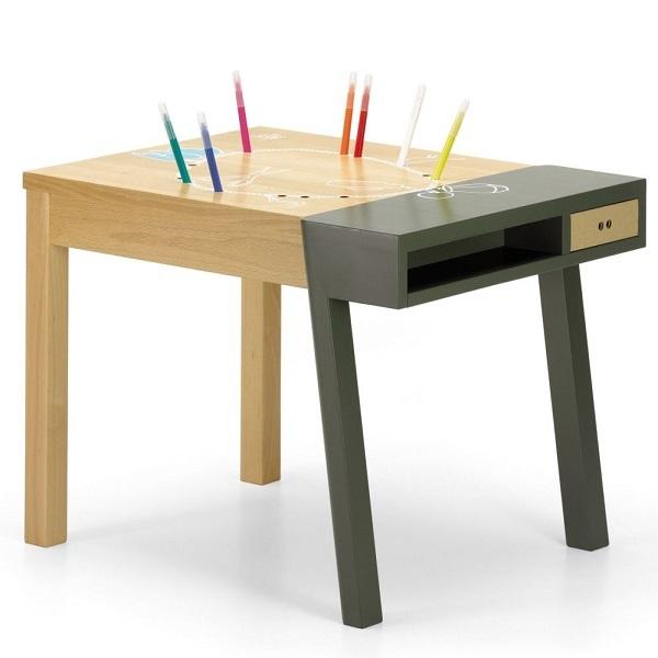 vitra ヴィトラ 【 Porcupine Desk ポーキュパイン デスク 】 Hella Jongerius ヘラ・ヨンゲリウス 2007年作 KIDS TABLE キッズテーブル_画像3