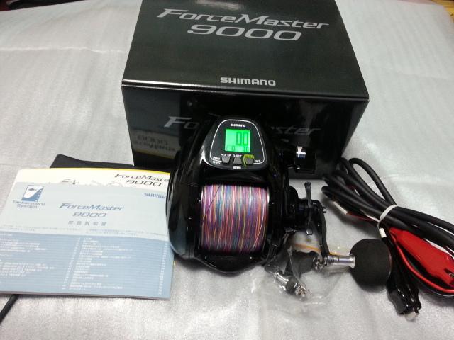 シマノ フォースマスター9000  【 美 品 】_画像9