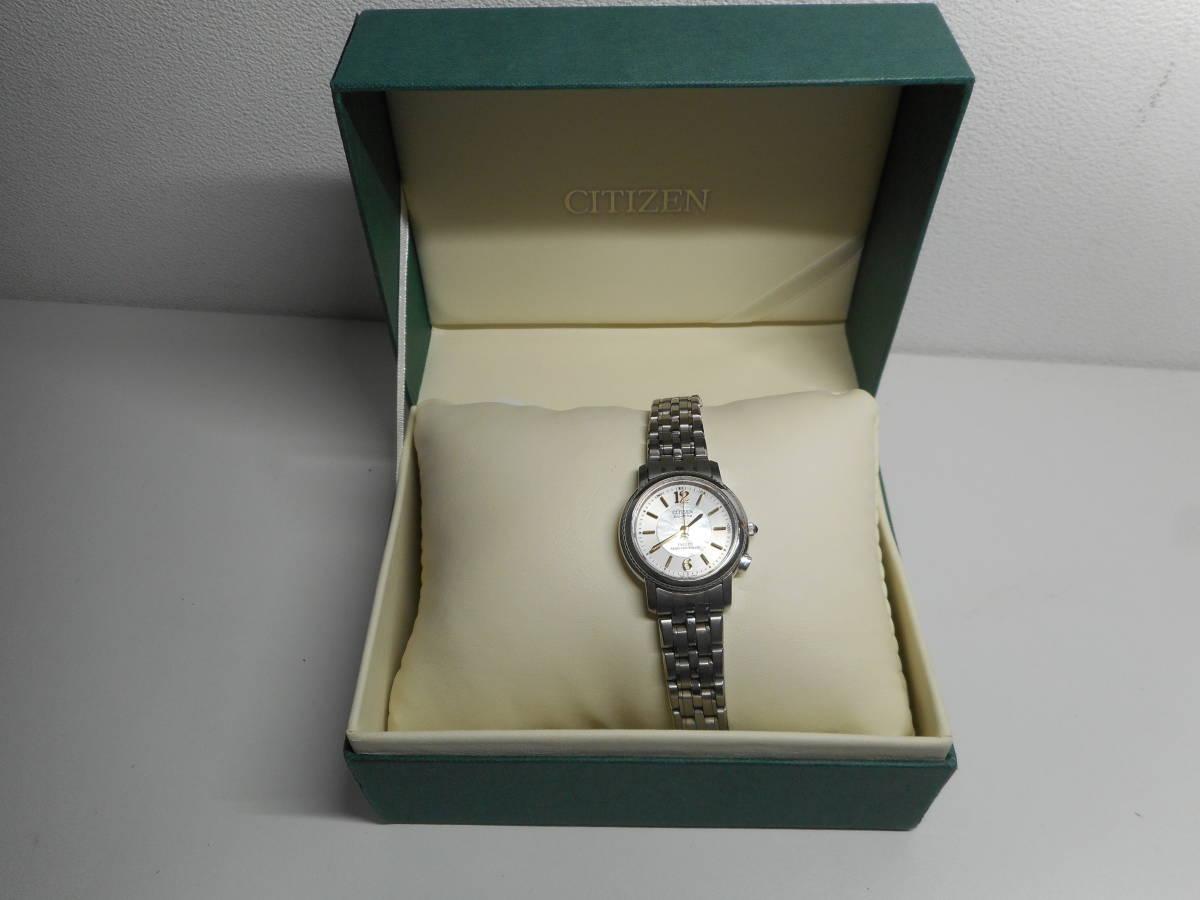 【外装綺麗目・現在動作未確認・現状渡し】CITIZEN 腕時計 EXCEED DURATEC エクシード Eco-Drive エコ・ドライブ 電波時計_画像2