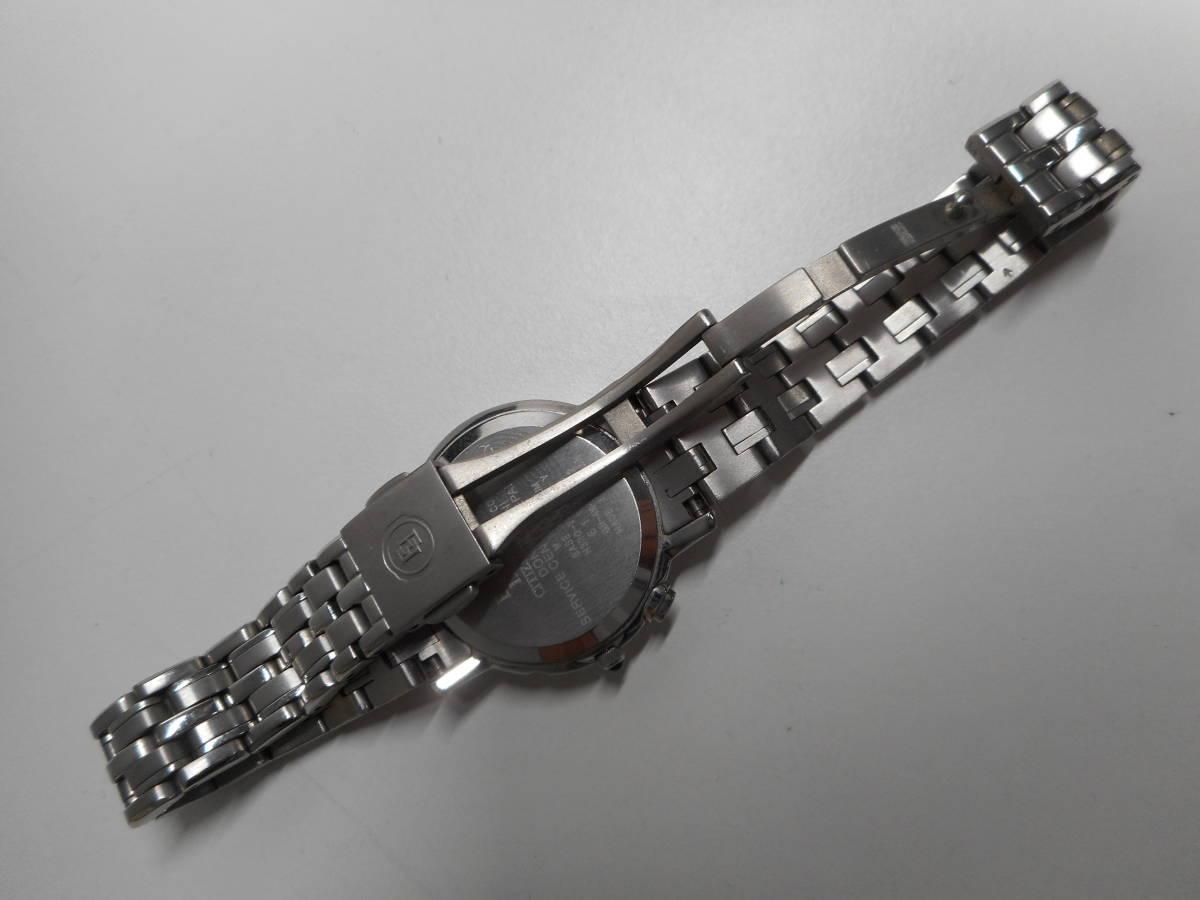 【外装綺麗目・現在動作未確認・現状渡し】CITIZEN 腕時計 EXCEED DURATEC エクシード Eco-Drive エコ・ドライブ 電波時計_画像4