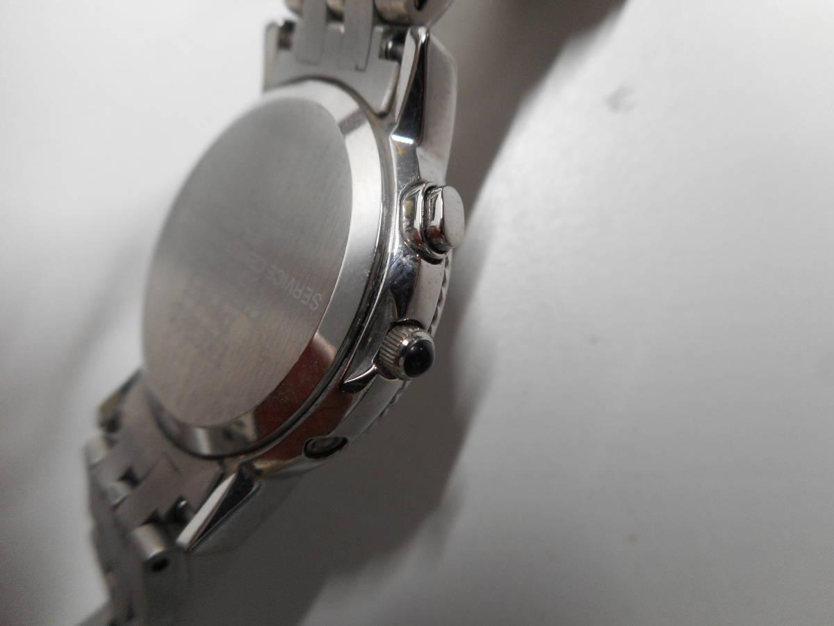 【外装綺麗目・現在動作未確認・現状渡し】CITIZEN 腕時計 EXCEED DURATEC エクシード Eco-Drive エコ・ドライブ 電波時計_画像6