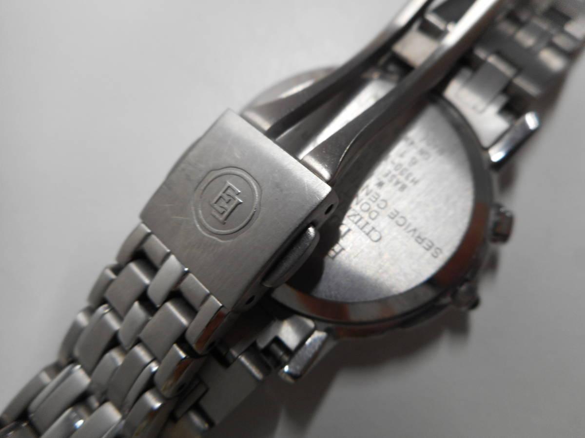 【外装綺麗目・現在動作未確認・現状渡し】CITIZEN 腕時計 EXCEED DURATEC エクシード Eco-Drive エコ・ドライブ 電波時計_画像5