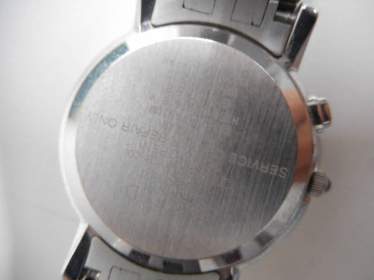 【外装綺麗目・現在動作未確認・現状渡し】CITIZEN 腕時計 EXCEED DURATEC エクシード Eco-Drive エコ・ドライブ 電波時計_画像7