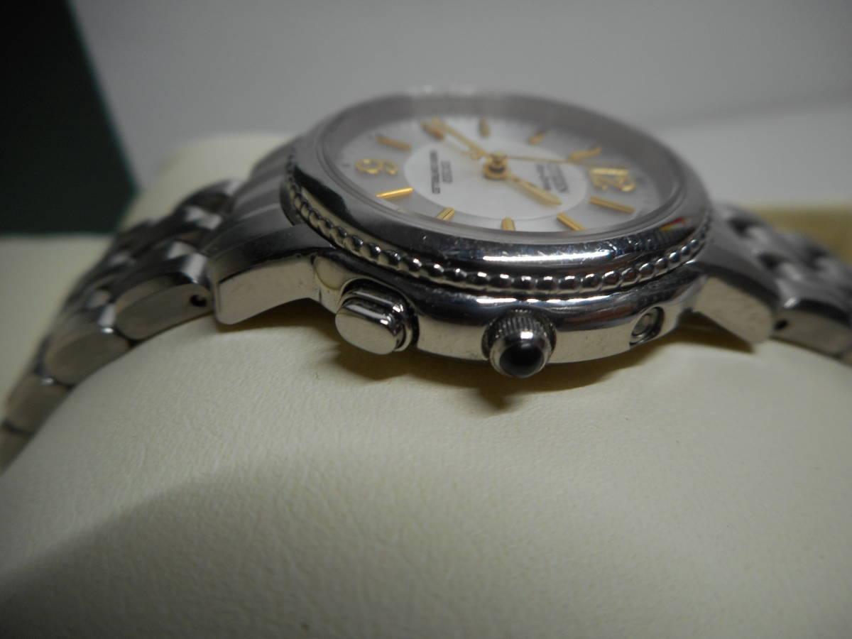 【外装綺麗目・現在動作未確認・現状渡し】CITIZEN 腕時計 EXCEED DURATEC エクシード Eco-Drive エコ・ドライブ 電波時計_画像9
