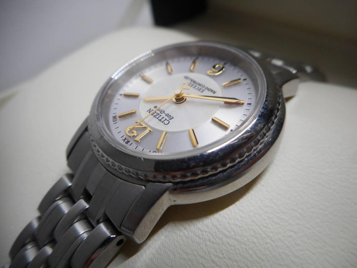 【外装綺麗目・現在動作未確認・現状渡し】CITIZEN 腕時計 EXCEED DURATEC エクシード Eco-Drive エコ・ドライブ 電波時計_画像10