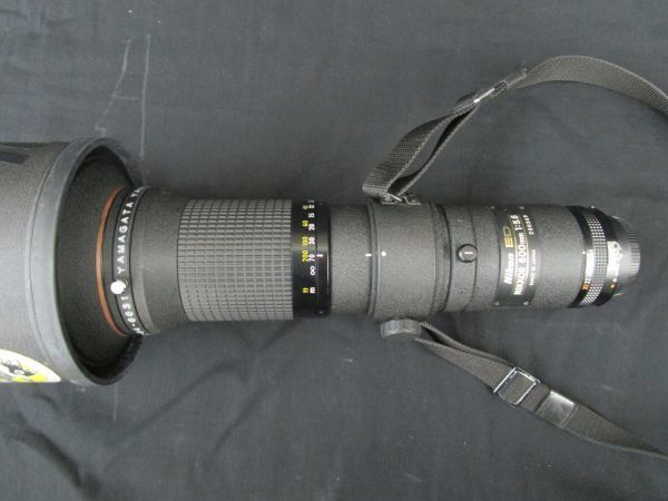 1746☆dt Nikon CT-603 FOR NIKKOR ED 600mm 1:5.6 望遠レンズ ケース付き_画像5