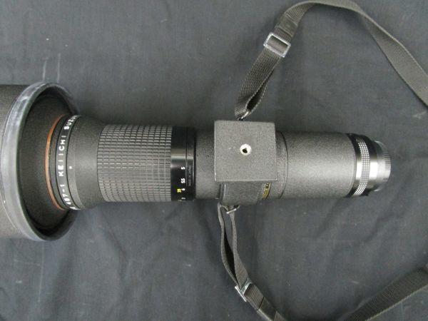 1746☆dt Nikon CT-603 FOR NIKKOR ED 600mm 1:5.6 望遠レンズ ケース付き_画像6