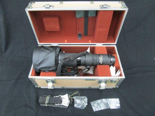 1746☆dt Nikon CT-603 FOR NIKKOR ED 600mm 1:5.6 望遠レンズ ケース付き