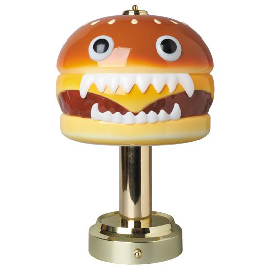 新品未開封 MEDICOM TOY UNDERCOVER HAMBURGER LAMP アンダーカバー ハンバーガーランプ メディコムトイ