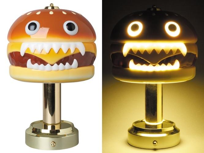 新品未開封 MEDICOM TOY UNDERCOVER HAMBURGER LAMP アンダーカバー ハンバーガーランプ メディコムトイ_画像2