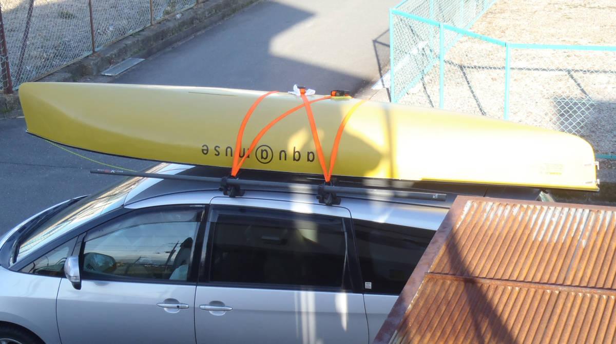 aqu@muse 141 セーリングカヌー 琵琶湖引き取り限定 オプション多数有り これからのシーズンに如何ですか?