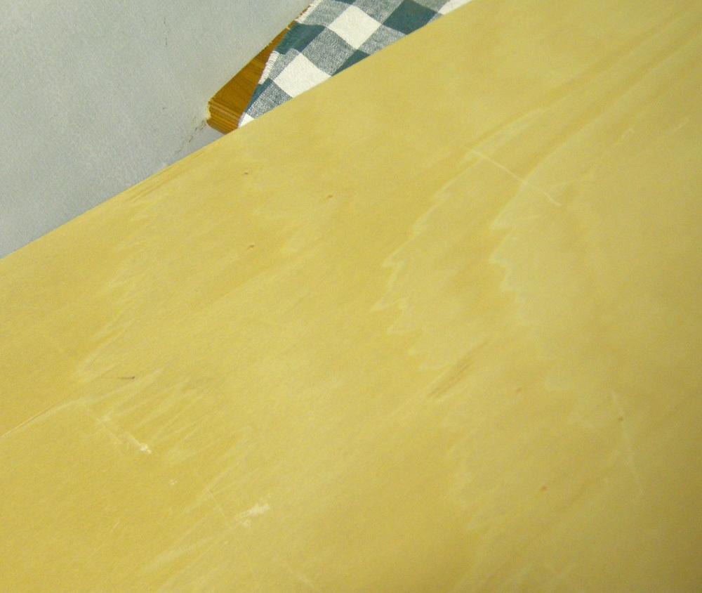 ★アウトドアテーブル/天板/木製/ベニヤ/マルチスタンドに/中古_画像8