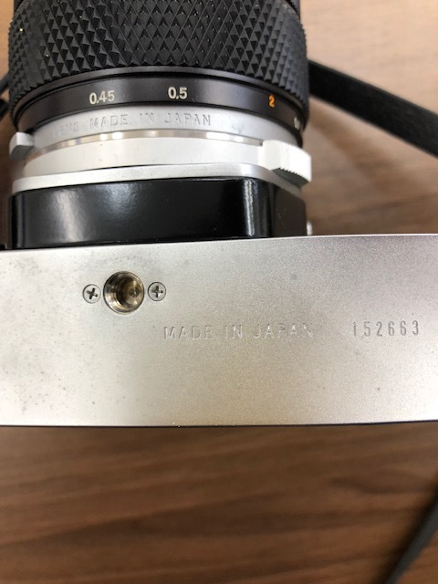 13114 OLYMPUS カメラ M-1 ケース付_画像3