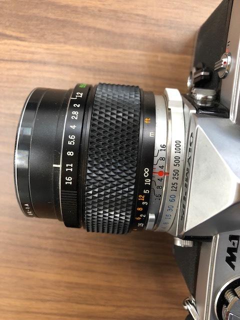 13114 OLYMPUS カメラ M-1 ケース付_画像4