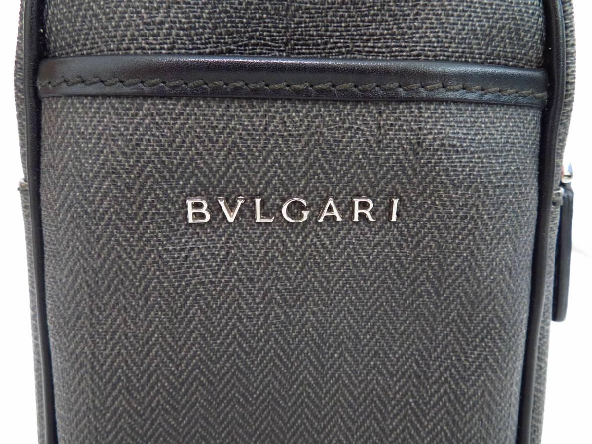 【極美品】ブルガリ ウィークエンド ヘリテージ ボディバッグ BVLGARI_画像3