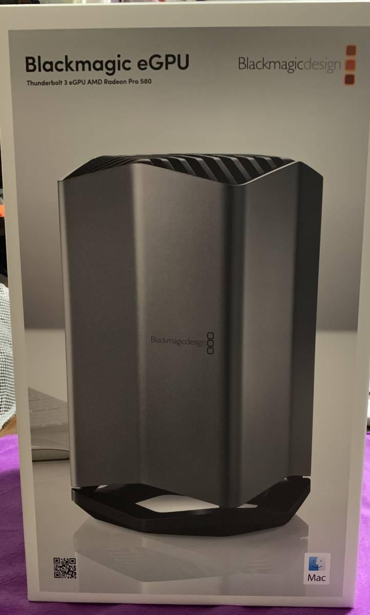 中古 Blackmagic eGPU (Radeon Pro 580)_画像6