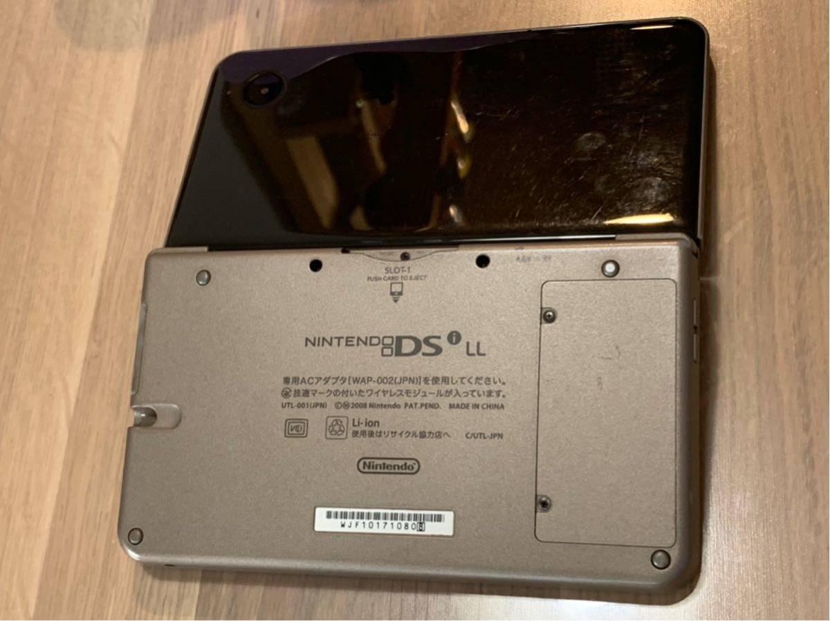 【送料込み】Nintendo DSiLL 本体 初期化済み 中古 現状品_画像2