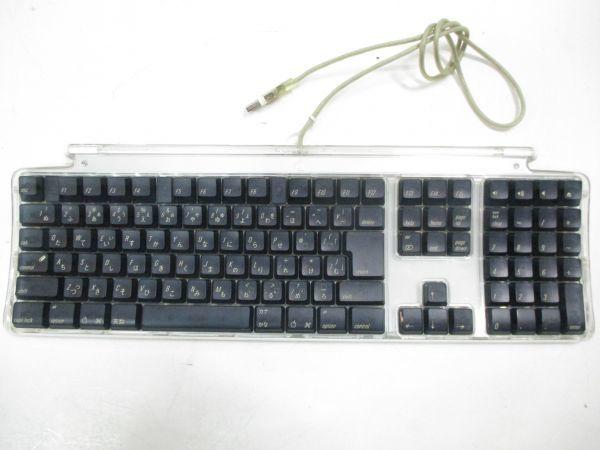 □アップル MAC Apple PRO キーボード M7803 マウス セット M5769 黒 B-2□_画像2