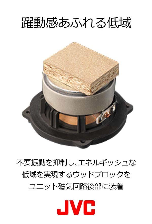 JVC EX-HR5/ウッドコーンスピーカー搭載/コンパクトコンポーネントシステム/展示品_画像5