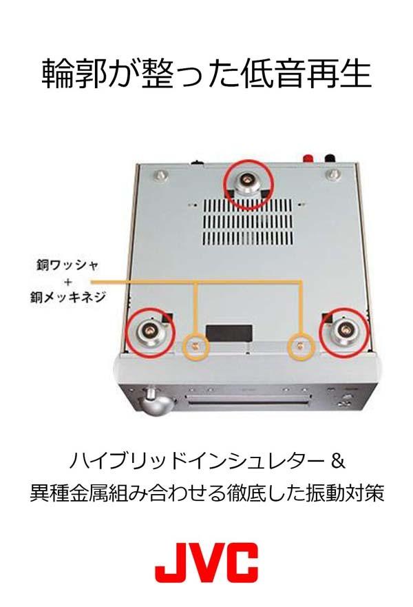 JVC EX-HR5/ウッドコーンスピーカー搭載/コンパクトコンポーネントシステム/展示品_画像6