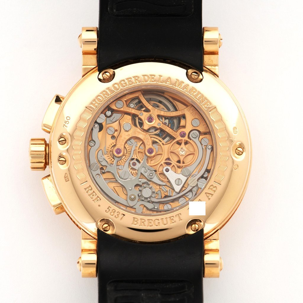 ★BREGUET★ブレゲ マリーン MARINE2 トゥールビヨン18Kローズゴールド最高級腕時計!!大変希少!! 入手困難!!_画像3