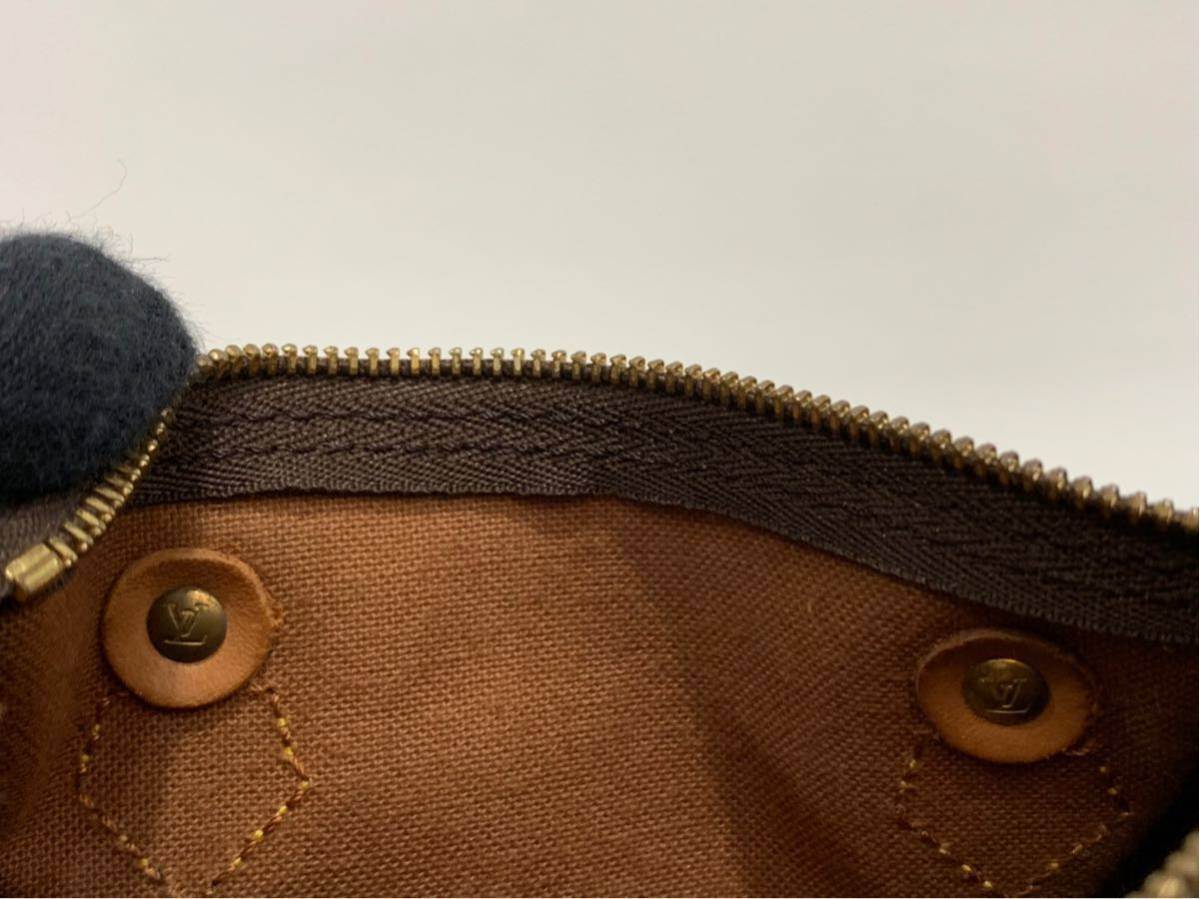 LOUIS VUITTON ルイヴィトン【M41534】TH0994 ミニスピーディ★ ボストンバッグ モノグラム ミニ ハンドバッグ ★ポーチ★_画像6