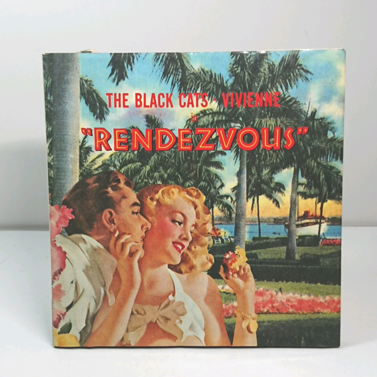 ブラック・キャッツ&ビビアン ランデブー 中央アート出版社 the black cats vivienne rendezvous