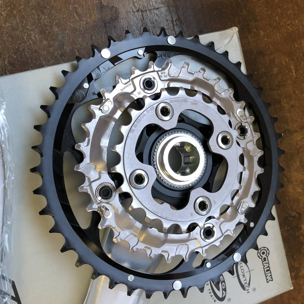 SHIMANO / DEORE XT FC-M752 175 NEW OLD STOCK _画像5